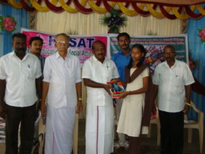 Education Aids distributed in Thiruvidaimaruthur