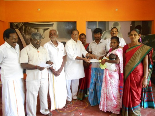 Flood Disaster relief for villages in Kanchipuram