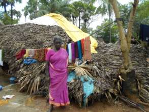 Chellamma trying to save some possessions