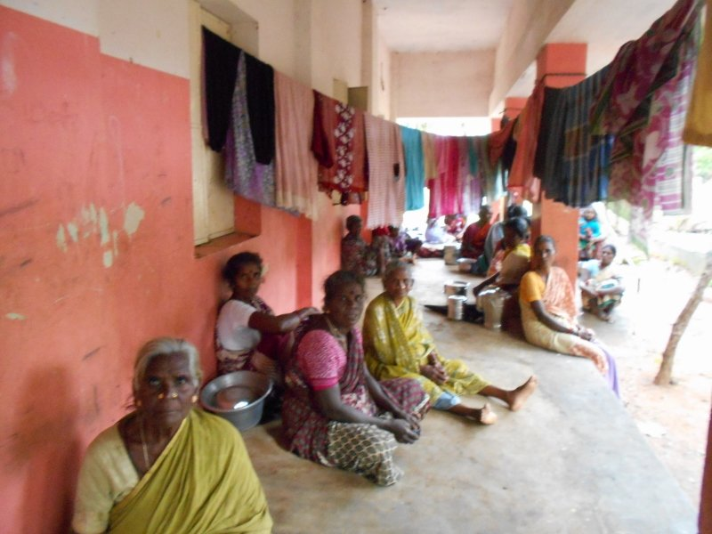 Flood Disaster relief for villages in Kanchipuram