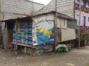 One of the next shanties to be replaced
