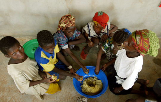 School feeding in Mali