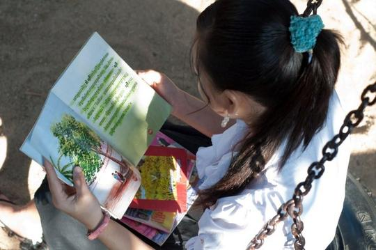 Reading at Aftercare