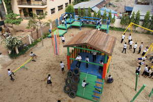 The Playground at Hagar's School