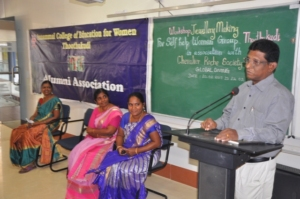 OUR NGO DIRECTOR AT VALEDICTORY FUNCTION