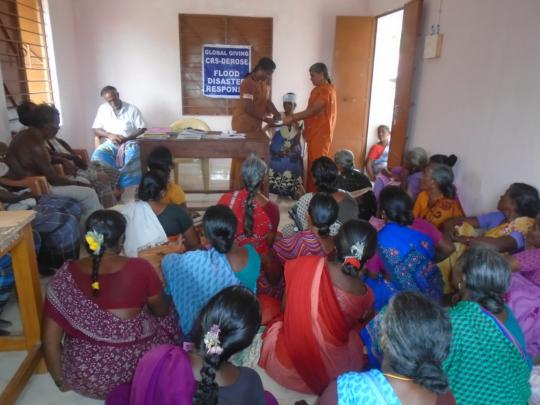 FIRST AID TECHNIQUES AT KARUPPUR