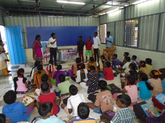 EARLY WARNING TRAINING AT CHENNAI FOR STUDENTS