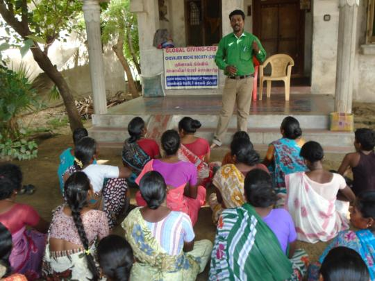 DISASTER TRAINING AT PERIYA KUMATTI, CUDDALORE