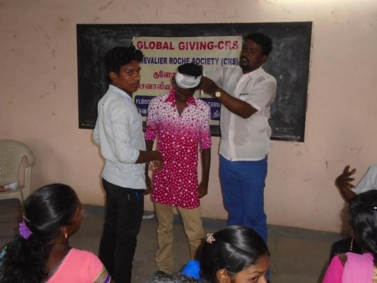 FIRST AID TECHNIQUES FOR DHALITH COMMUNITY
