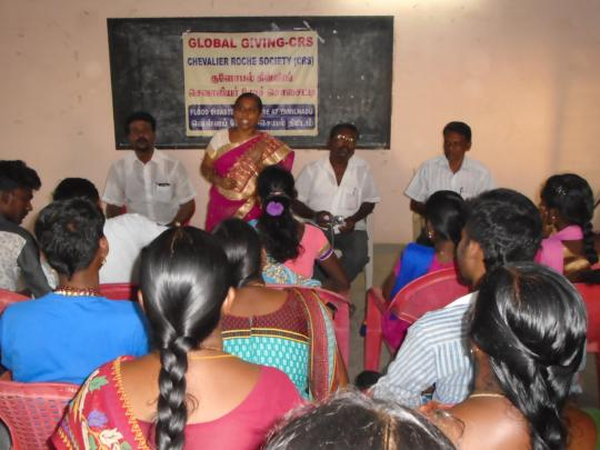 DISASTER MANAGEMENT TRAINING FOR DHALITH COMMUNITY