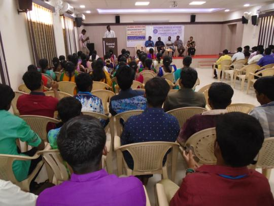 DISASTER RISK REDUCTION CONVENTION AT COLLEGE