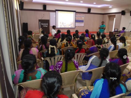 WOMEN STUDENTS LISTENED
