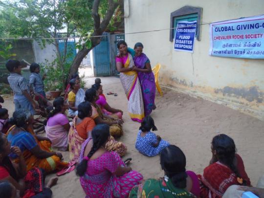Evacuation Procedure at Alangarathattu