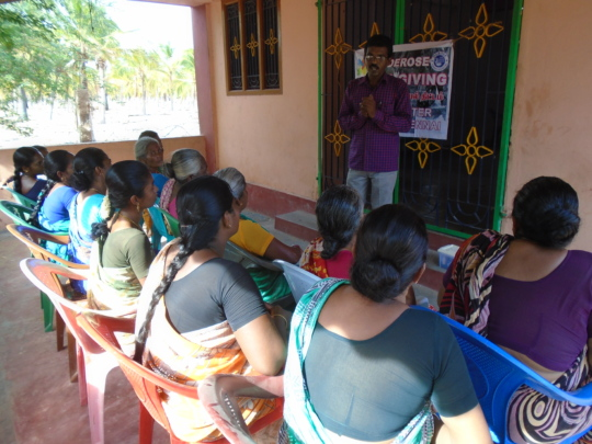 DISASTER MANAGEMENT TRAINING AT THANDAYARPETTAI