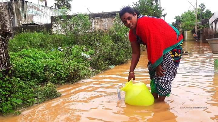 Flood Disaster Response at Tamil Nadu, S.India