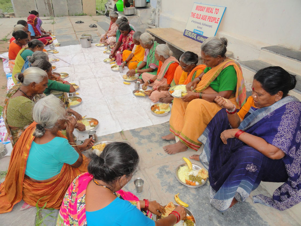 Food Sponsorship for a Destitute Old Aged Person