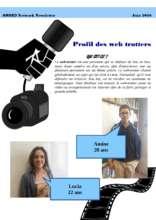 Newsletter presenting the webtrotters