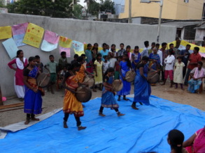 Cultural program on Pongal festival