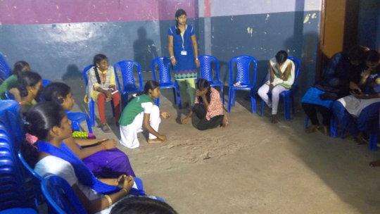 Street play workshop