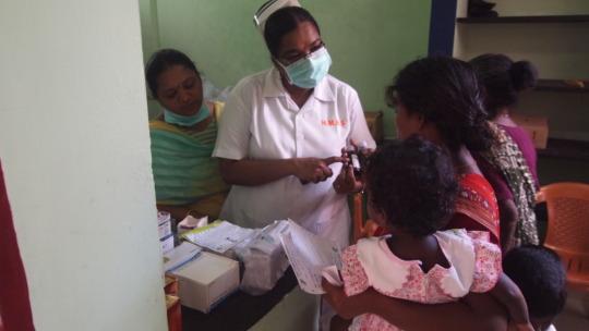 Health Camps in Slums