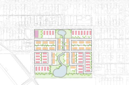 Site Plan for Cascade Parc