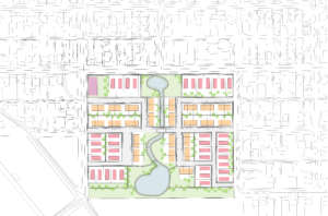 Site Plan for Cascade Parc