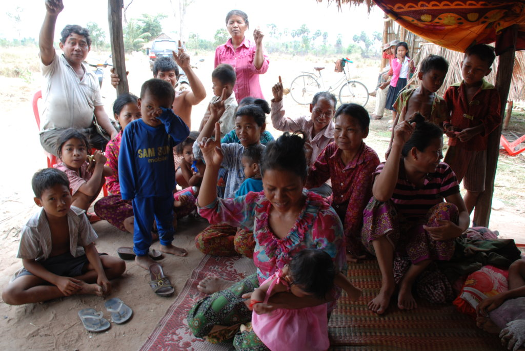 Construct water wells for Cambodian villages