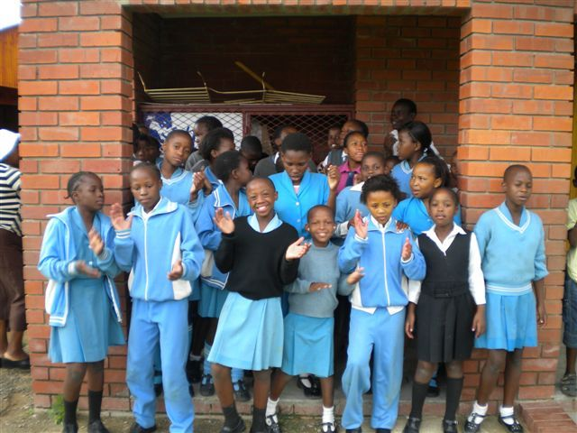 Children at Siyanqoba Noah Ark