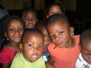 Children at a Resource centre