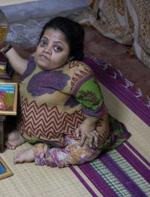 Radha at home