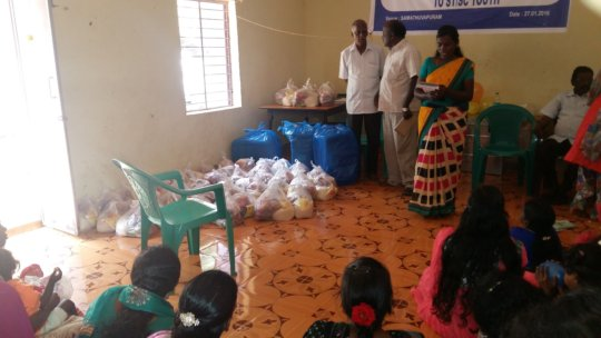 Urgent rebuilding - 2500 Chennai flood survivors