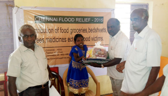 Flood relief to disabled youth