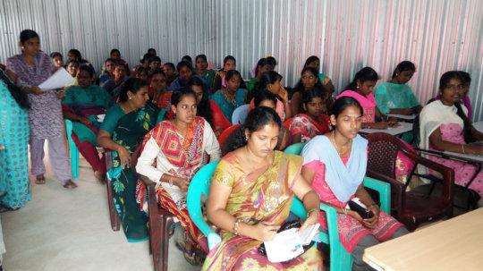 Entreprenuership training for self employment