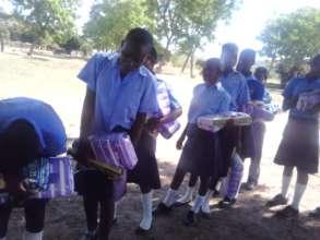 Menstrual Hygiene Kits - 5 Rural Schools in Murewa