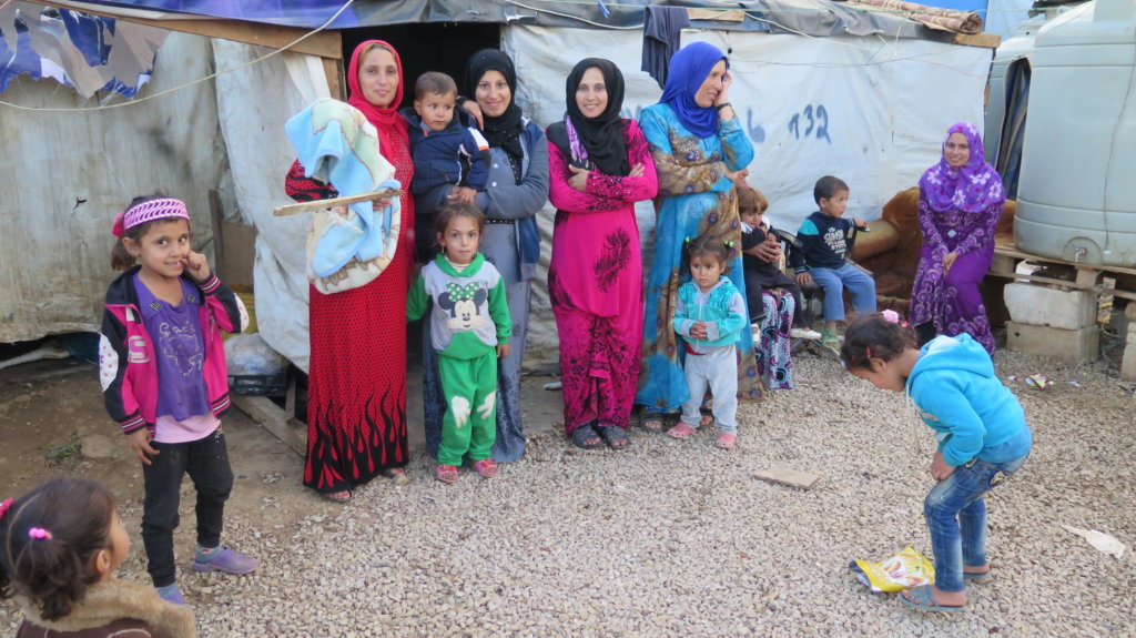 Your help for displaced persons