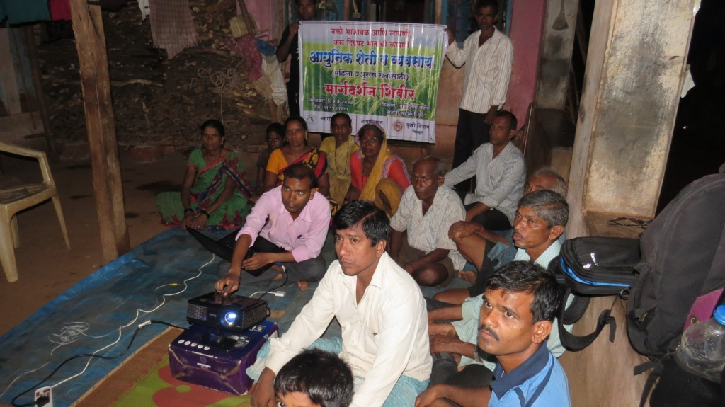 Village level orientation on SRT