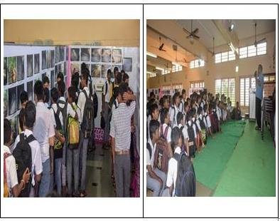 Photo Exhibition and Interaction with Student