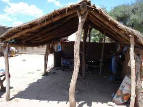 Tipical house in the rural zone of Chaco