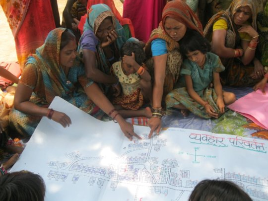 Building women initiatives in Slums of Lucknow