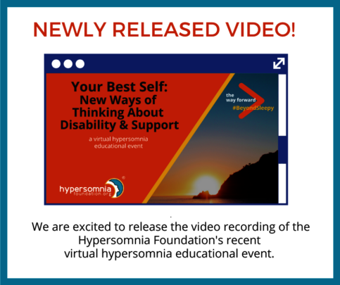 Hypersomnia Foundation's Virtual Event