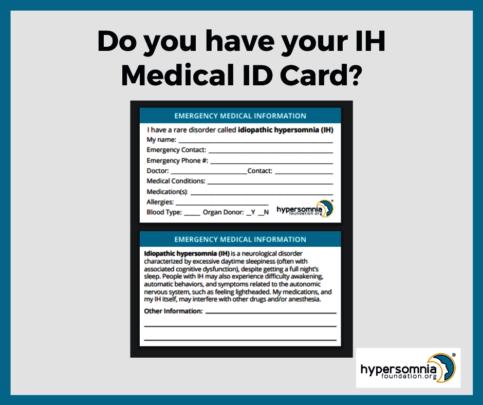 IH Medical ID Card