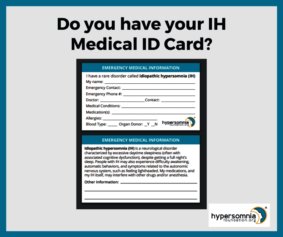 IH Medical ID Card