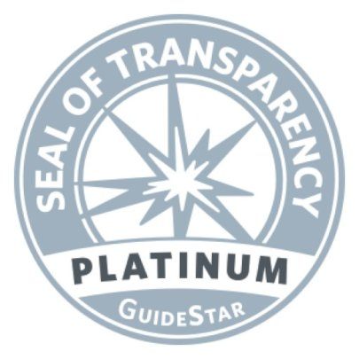 Awarded Guide Star Platinum Seal