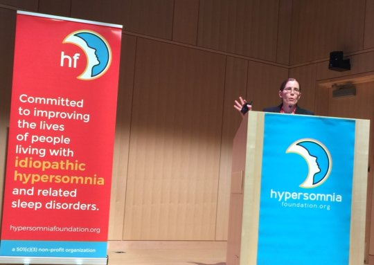 Dr. Trotti at #HFconf