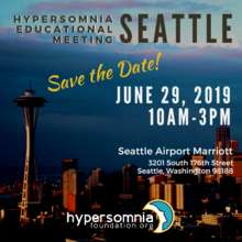 Seattle Hypersomnia Educational Meeting (PDF)