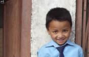 School furniture for Rashan after the earthquake