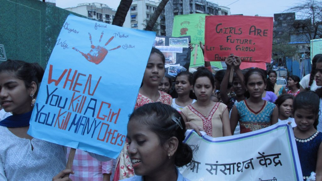 Rally for Violence against Girls