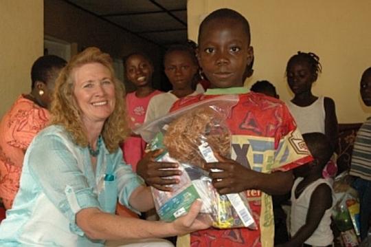 School Supplies Distributed at El Shaddai Children