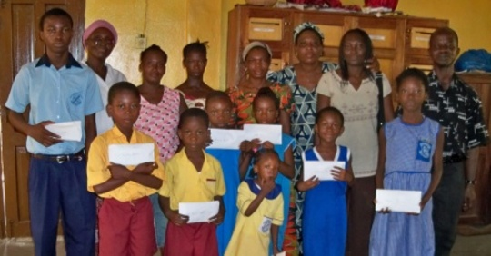 Some of Scholarship Beneficiaries and Parents 2010