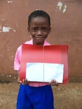 smiling scholarship beneficiary